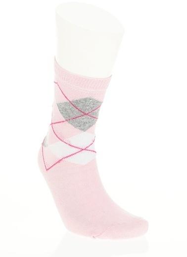 Free Clothing 3'Lü Çorap Pembe